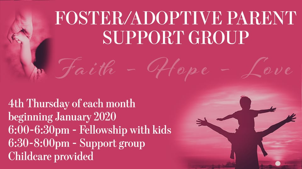 Foster/Adoptive Parent Support Group