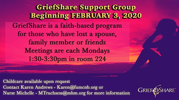 2020 Grief Share